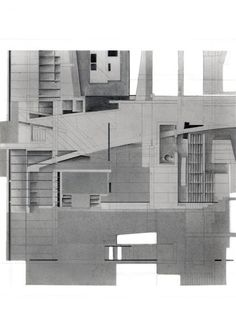Blades Residence - Conceptual Drawing | Morphopedia | Morphosis Architects