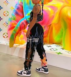 Cute Swag Outfits, Dope Outfits, Retro Outfits, Trendy Outfits, Tomboy Fashion, Teen Fashion Outfits, Streetwear Fashion, Fashion Hacks, Classy Fashion