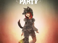 Baby Beef Jardim:  Costume Party, Little Red Riding Hood