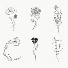 10000 printed woman loose trousers at the waist - Woman Trousers Mini Tattoos, Body Art Tattoos, Tatoos, Flower Tattoo Designs, Flower Tattoos, Tattoos For Women Small, Small Tattoos, Minimal Tattoo, Future Tattoos