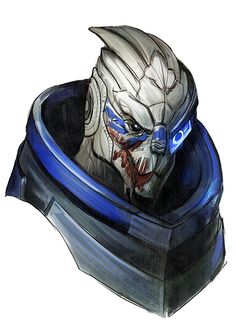 Mass Effect,фэндомы,Femshep,Commander Shepard,ME персонажи,Javik,Garrus Vacarian,crystalgraziano