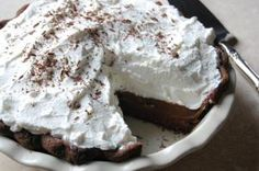 Bring more pie into your life.: Double Chocolate Cream Pie Recipe