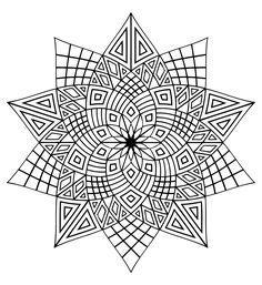 Pour imprimer ce coloriage gratuit «coloriage-mandala-difficile-3», cliquez sur l'icône Imprimante situé juste à droite