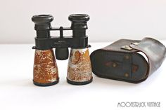 Vintage Majestic Binoculars Field Glasses by MoonstruckVintageAZ