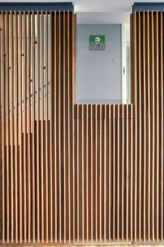 Front entry doors that make a strong first impression modern wood door design. cheap home home decor Wood Front Doors, Entry Doors, Front Entry, Front Door Design, Slat Wall, Door Wall, Wall Wood, Wood Slats, Timber Battens