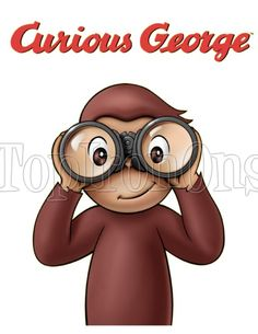 Curious George T Shirt Iron on Transfer #5