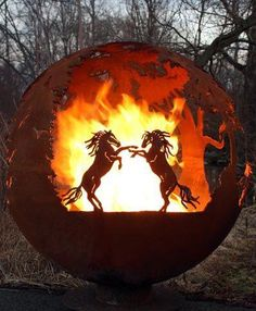 wonderful idea for a fire pit