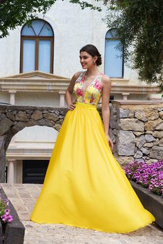Ideas Wedding Guest Dresses Spring Evening Beautiful For 2019 Best Wedding Guest Dresses, Unique Prom Dresses, Pretty Dresses, Formal Dresses, Look 2018, Mexican Dresses, Quinceanera Dresses, Spring Dresses, Yellow Dress