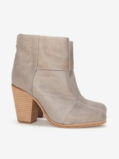 rag & bone Classic Newbury Booties: Grey- These are the best boots... so comfortable- I wear them with everything!