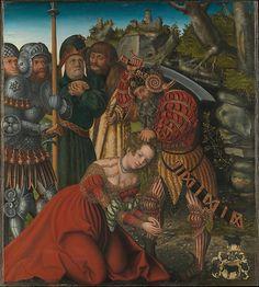 Lucas Cranach the Elder, The Martyrdom of Saint Barbara, 1510