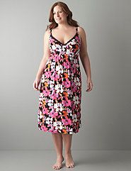 Tru to You floral nightgown by Cacique
