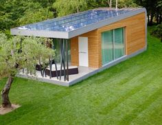 Super Thin Solar Panels Crown the Spectacular 'Green Zero' Modular Getaway in Italy