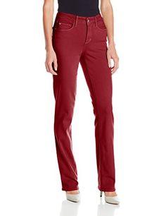 SALE PRICE $53.25 - NYDJ Women's Marilyn Straight Jeans in Luxury Touch Denim