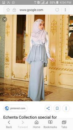 Echenta Collection special for Raya Haji dearies release ini okay Abaya Fashion, Muslim Fashion, Fashion Dresses, Simple Dresses, Pretty Dresses, Beautiful Dresses, Hijab Styles For Party, Morrocan Dress, Muslimah Wedding Dress