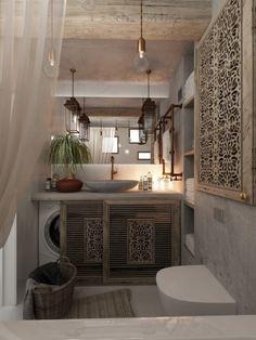 homedesigning:  (via 3 Feminine Apartments Designed For 3 Sizes)