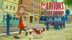 Lady Layton for 3ds. Katrielle daughter of the professor