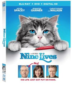 Nine Lives on Blu-Ray coming to Blu-ray on 10/25