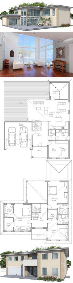 Very steep slope house plans hillside home plans at for Hillside garage doors