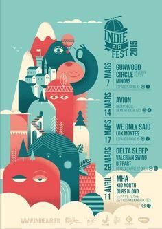 Indie Air Fest, 2015