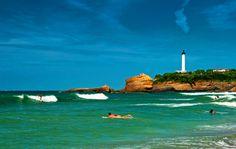 Coast near Biarritz