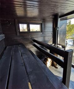 Villa Glass House offers a traditional Finnish Sauna with a wood burning stove in a separate gorgeous Sauna Glass House at the waterfront. Modern Saunas, Glass House Design, Sauna Design, Finnish Sauna, Reduce Stress, Lake View, Terrace, Villa, Relax