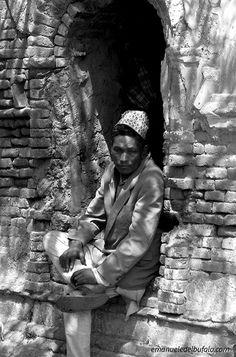 "India- ""Thinking Man"" by Emanuele Del Bufalo .www.emanueledelbufalo.com"