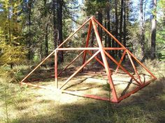 Using Pyramid Structures to Increase Food Production in Your Garden…Among Many Other Things