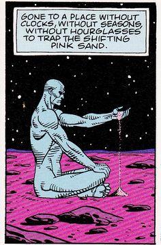 Dr Manhattan Of The Watchmen Is Godlike,,(Watch The Movie)☺ Comic Books Art, Comic Art, Comics Vintage, Pop Art, Catholic Memes, Univers Dc, 8bit Art, Marvel E Dc, Tattoo Motive