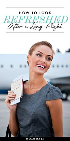 We have the perfect tips to help you hop off the plane looking and feeling fresh faced. Try these makeup tricks!