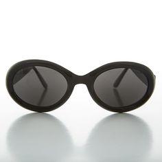 1df7202952 1990s Kurt Cobain Oval Grunge Cateye Vintage Sunglasses -MACY Trending  Sunglasses