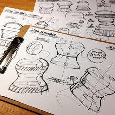 Kelly Custer著Sketchbook(Coroflot.com)