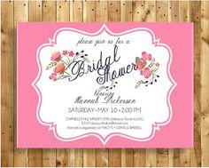 Bridal Shower Invitation By eventsbykatiestl