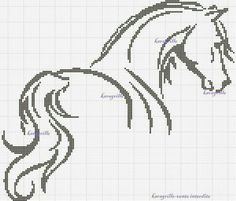 Thrilling Designing Your Own Cross Stitch Embroidery Patterns Ideas. Exhilarating Designing Your Own Cross Stitch Embroidery Patterns Ideas. Cross Stitch Horse, Cross Stitch Animals, Cross Stitch Charts, Cross Stitch Designs, Cross Stitch Patterns, Crochet Cross, Crochet Chart, Filet Crochet, Cross Stitching