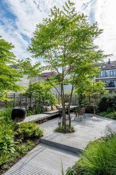 Back Gardens, Small Gardens, Outdoor Gardens, Rooftop Gardens, Urban Garden Design, Jungle Gardens, Garden Architecture, Residential Architecture, Gardening