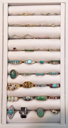 #jewelry I love all these #rings