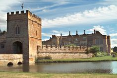 Broughton Castle, Banbury, Oxfordshire. Went to a medieval banquet here yrs ago.