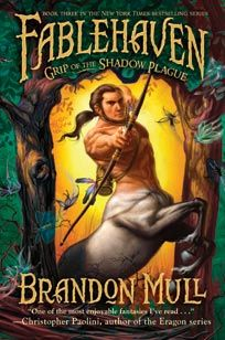 """Fablehaven: Grip of the Shadow Plague"" by Brandon Mull (3rd in the series)"