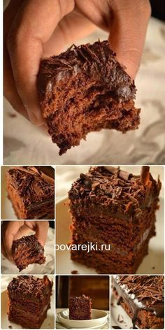 All Time Easy Cake : Super wet chocolate cake (no eggs) - king of baking, Easy Cake Recipes, Baking Recipes, Dessert Recipes, Healthy Recipes, Cake Sans Oeuf, Cooking Cookies, Cake Tins, Sweet Cakes, Savoury Cake