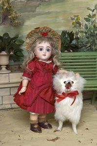 Poupée ancienne (France) Mison Jumeau - Le Musée de la Poupée Paris - poupées de collection, poupées anciennes