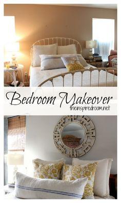 Before  After Bedroom Makeover