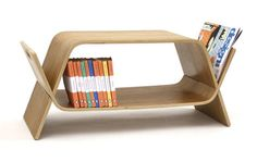 bench, table, storage, or lil desk and seat for a kid (separated pieces) Embrace by John Green #furniture #design #interior
