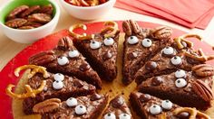 Yummy Reindeer Brownies To Make December 2016 sue Brownies and Bars Christmas Comments Off! Christmas Desserts, Christmas Baking, Christmas Treats, Holiday Treats, Holiday Recipes, Christmas Cookies, Christmas Recipes, Christmas Foods, Holiday Foods