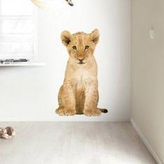 Safari Friends wall sticker from KEK Amsterdam. Safari, Jungle Room, Lion Cub, Kids Play Area, Nursery Neutral, Neutral Nurseries, Nursery Design, Kidsroom, Amsterdam