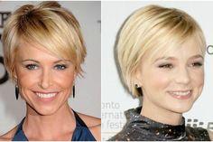 """Deze dames met fijn/dun haar hebben een mooi trendy kort kapsel. Deze dames zijn het bewijs dat dun haar ook super mooi kan zijn! """"Bekijk de beste en snelste manier om af te vallen en gezonder te leven"""""""