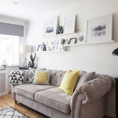 Take-a-tour-around-this-light-and-bright-Scandi-style-new-build-in-Glasgow-living 2020 Living Room Design Ideas Scandi Living Room, Living Room Modern, Living Room Interior, Home Living Room, Living Room Furniture, Living Room Designs, Home Furniture, Scandinavian Living, Rustic Furniture