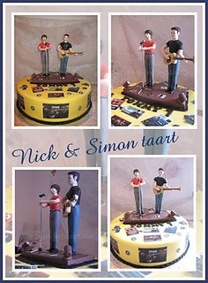Nick en Simon taart