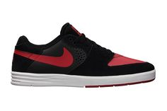 Nike SB Paul Rodriguez 7 Black University Red-White 93527211738a6