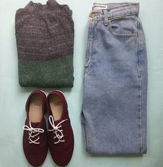 #ootd w/ classic knits and denim