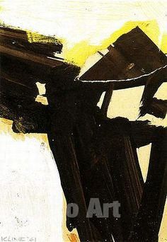 Order: Untitled (Study for Sabro IV) 1961 - Franz Kline reproduction oil painting