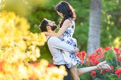 Vibrant, bright colours from Preet and Hemant's pre-wedding shoot